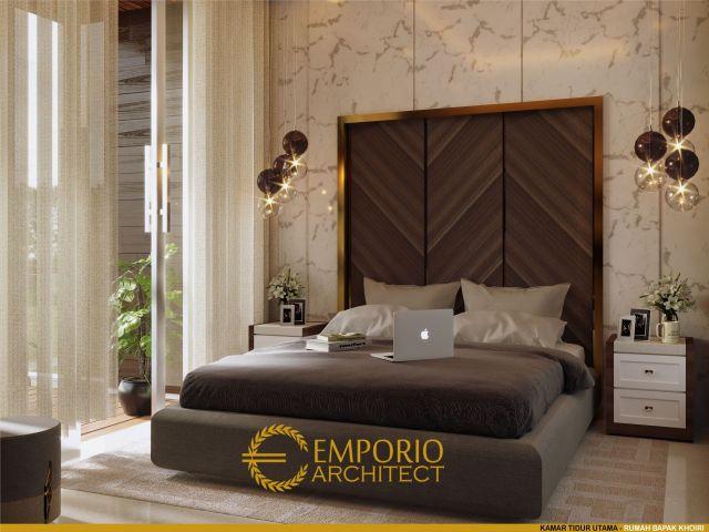 Desain Kamar Tidur Rumah Bapak Khoiri di Cibubur, Bekasi
