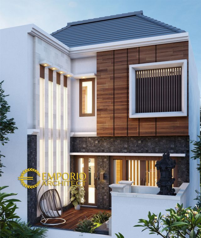 Mr. Egi Modern House 3 Floors Design - Denpasar, Bali