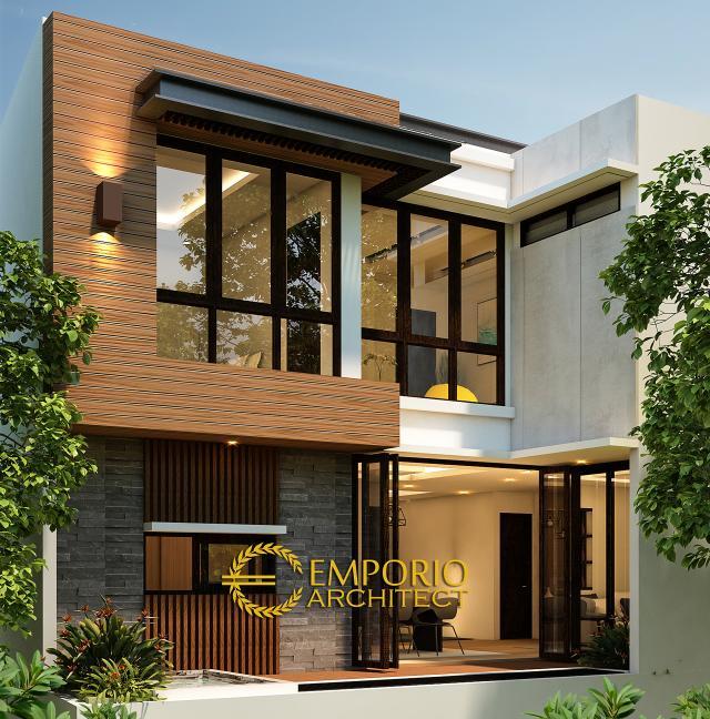 Mrs. Sunny Modern House 3 Floors Design - Depok, Jawa Barat