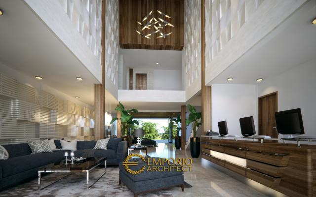 Desain Interior Hotel Modern 2 Lantai Ar Rayyan di Banjarmasin Kalimantan