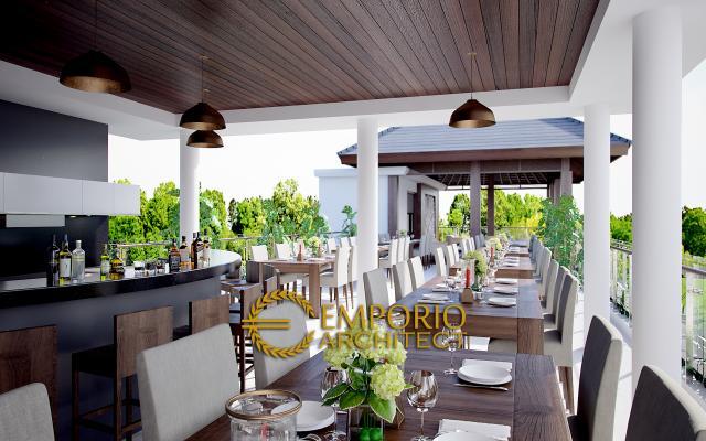 Desain Exterior 3 Hotel Villa Style Villa Bali 5 Lantai Bapak Raymundus di Ubud, Bali