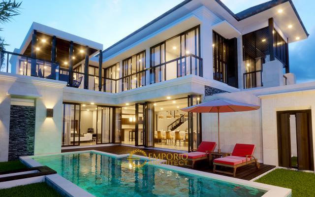 Mr. Ahmad Villa Bali House 2 Floors Design - Bekasi