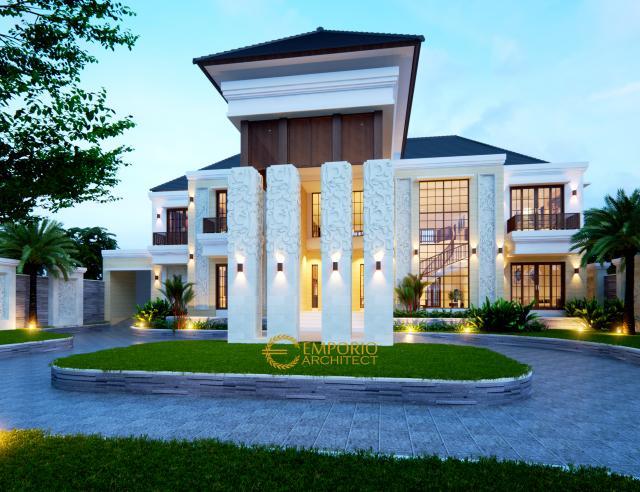 Desain Rumah Villa Bali 3