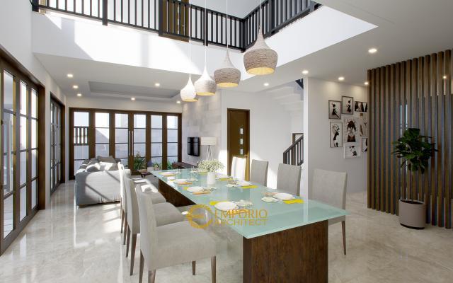 Desain Ruang Makan Rumah Bapak Andreas Type 2 di Jakarta