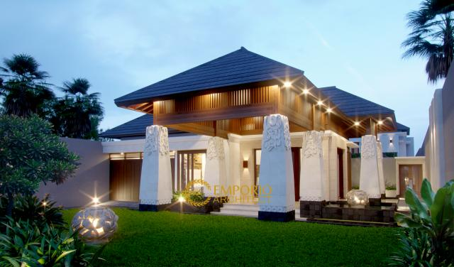 Mr. Bambang Villa Bali House 2 Floors Design - Jakarta
