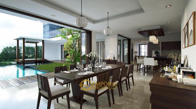 Desain Ruang Makan Rumah Bapak Eko Gindo di Cibubur, Jakarta