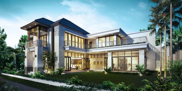 Mr. Tony Villa Bali House 2 Floors Design - Makassar