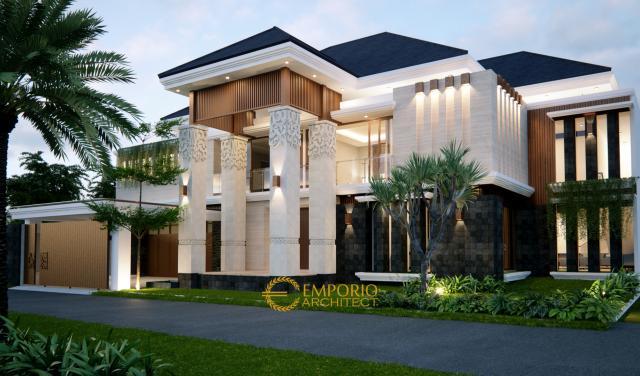 Mrs. Tirza Villa Bali House 2 Floors Design - Jakarta