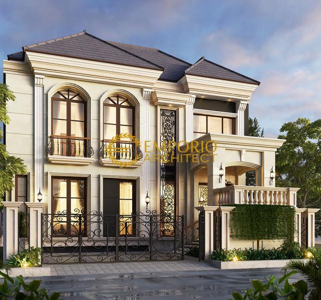 Desain Butik Mediteran 2 Lantai Ibu Tuti di Bandung