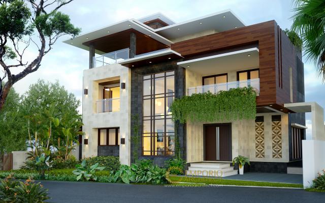 dr. Kailash Prabudev Modern House 3 Floors Design - Bangalore, India