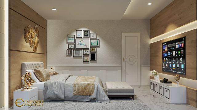Desain Kamar Tidur Rumah Bapak Indra di Jakarta Barat