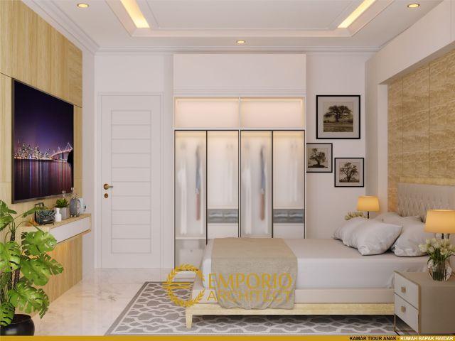 Desain Kamar Tidur Rumah Bapak Haidar di Jakarta