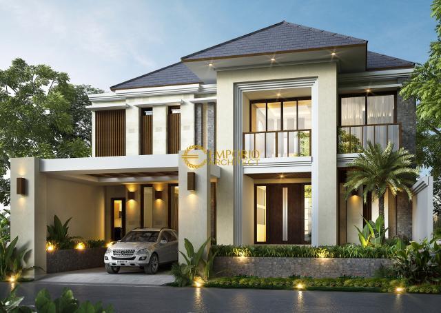 Desain Rumah Modern 2 Lantai Bapak Ismail di Jakarta