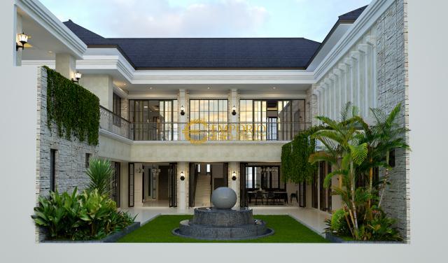Desain Rumah Hook Classic 2 Lantai Ibu Miranda di  Jakarta