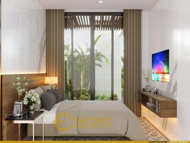 Desain Kamar Tidur Rumah Ibu Melly di Jakarta Timur