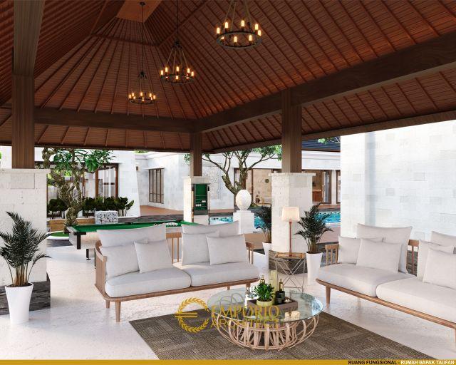 Desain Ruang Fungsional Rumah Bapak Taufan di Jember, Jawa Timur