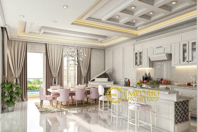 Desain Dapur dan Ruang Makan Rumah Bapak Michael Dotulong di Kelapa Gading, Jakarta Utara
