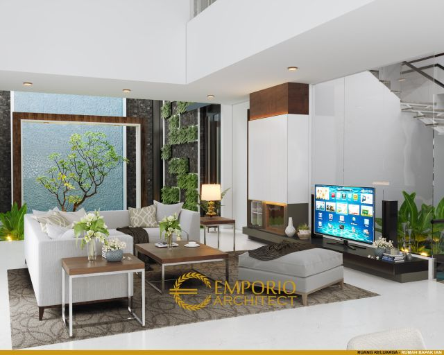 Desain Ruang Keluarga Villa dan Ruko Bapak Yan di Pecatu, Badung, Bali
