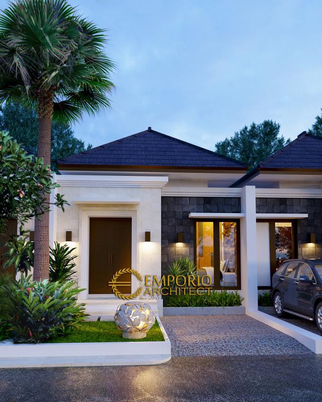 Desain Exterior 6 Ubud Grand Cendana Modern 1 Lantai di Lippo Karawaci, Tangerang
