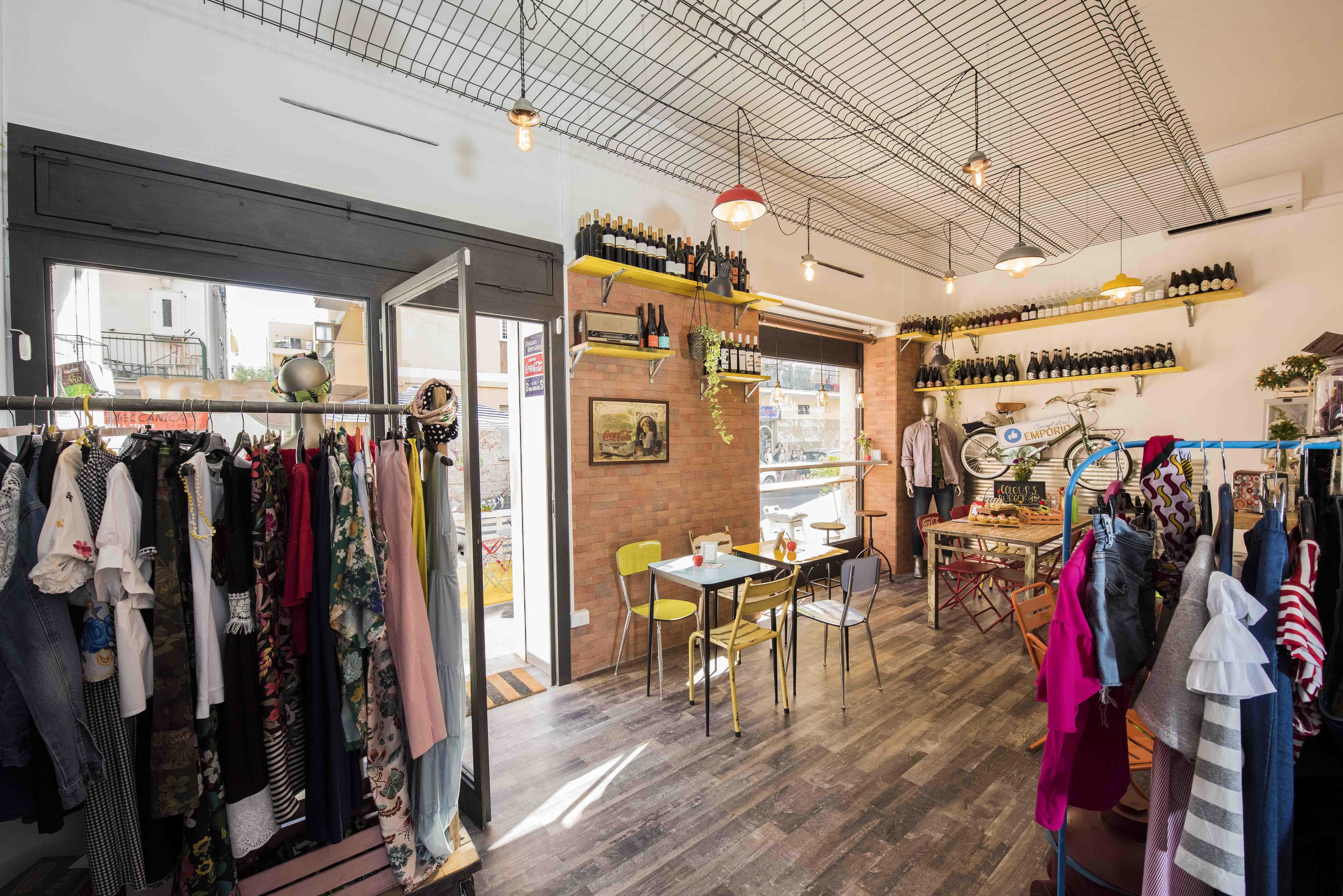 Emporio Concept store Ladispoli Benvenuti Pasticceria burger tapas abbigliamento shop 4