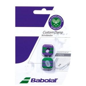 Antivibrador Babolat Custom Damp Wimbledon