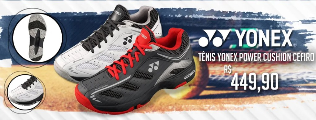 Tênis Yonex Power Cushion Cefiro
