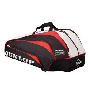 Raqueteira Dunlop Biomimetic Thermo 10 Vermelha