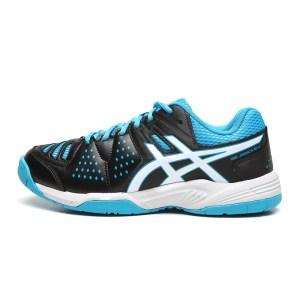 Tênis Asics Gel Dedicate 4 A Preto e Azul
