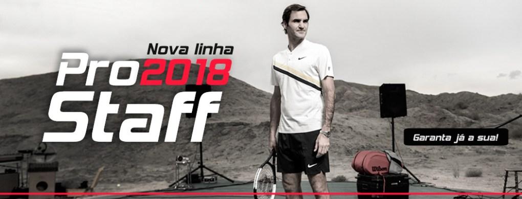Linha Pro Staff 2018