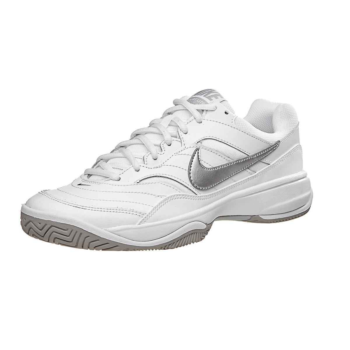 ebde0964a5 Tênis Nike Feminino Court Lite Branco e Cinza - Empório do Tenista