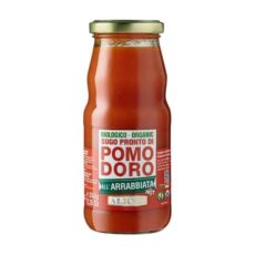 Sugo pronto di pomodoro all'arrabbiata bio Alicos