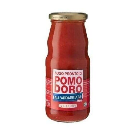 Sugo pronto di pomodoro siciliano all'arrabbiata Alicos