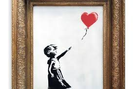 The Future of Banksy and his Self-Destructing Art Piece