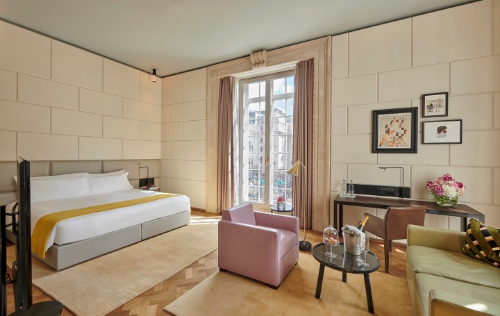 Hotel Cafe Royal Presidential Suite London