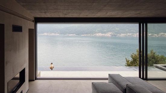 Lorenzo Guzzini Designs The Villa Molli with Exceptional 180 Degree Lake Views