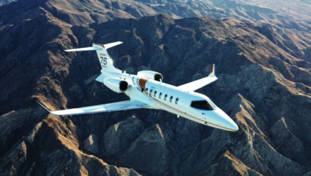 New Business Jet Comes With Learjet's Speedy by Own Mini Executive Suite