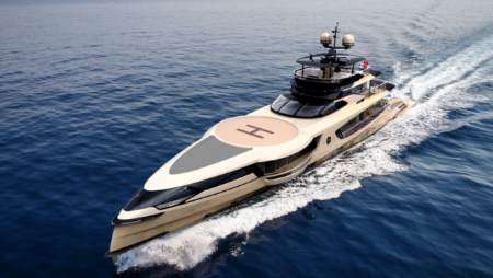 Sea Changing Design Philosophy: Dynamiq's Nimble New 160-Foot Yacht