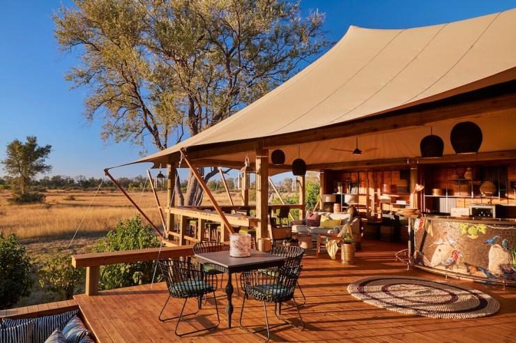 Tuludi Camp-Suite Okavango Delta Botswana