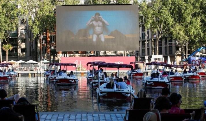 Paris Le Cinema Sur L'eau