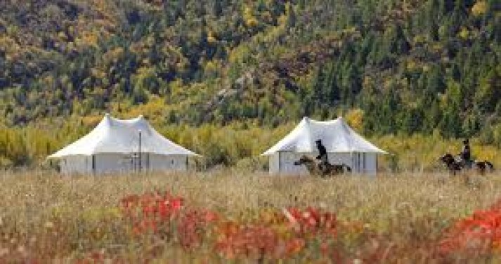 The Hidden Valley Resort Shangri-la Tibetan Tent