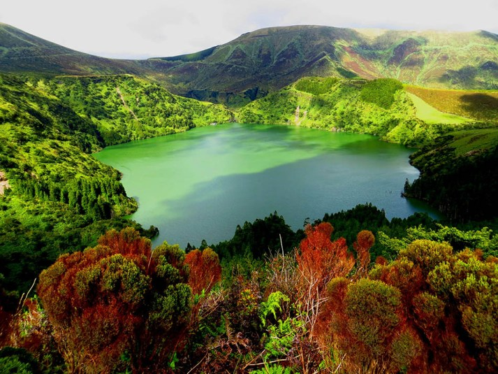 Ilha das Flores The Azores-Feeling Small in the Grand Beauty