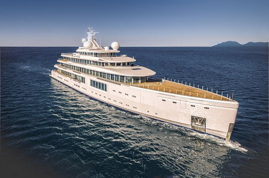 Luminosity superyacht