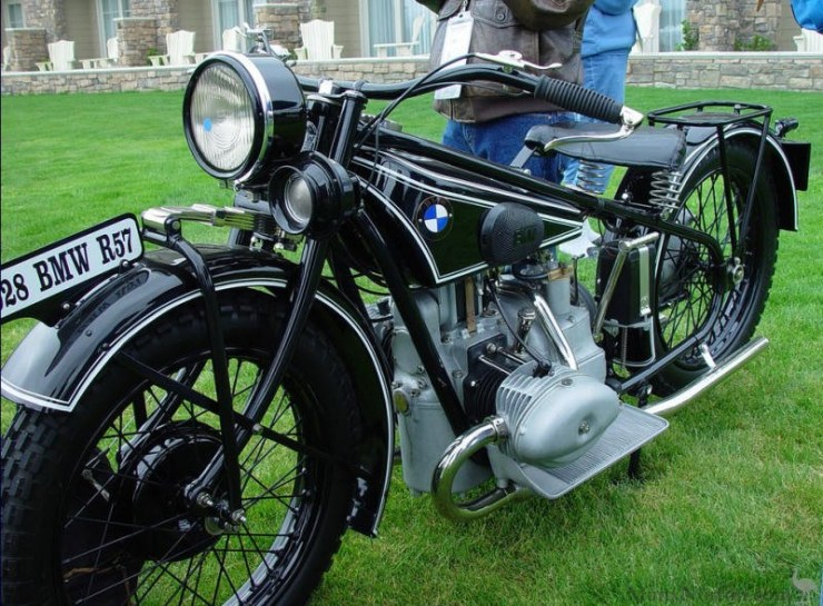 Rare 1928 BMW R57 Motorcycle