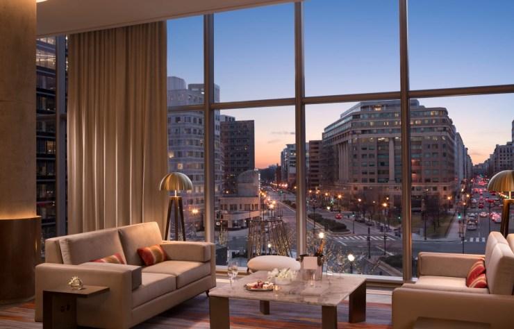 Conrad Washington DC luxury hotel