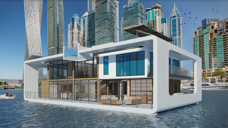 World's First Floating Resort-Luxury on Water