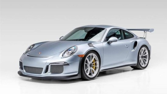 Jerry Seinfeld's 2016 Porsche 911 GT3 RS-Goes to Auction