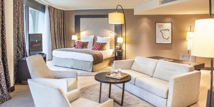 Luxury Hotel Intercontinental Davos