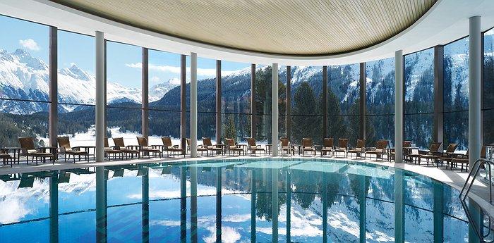 Luxury Badrutt's Palace Hotel St. Moritz