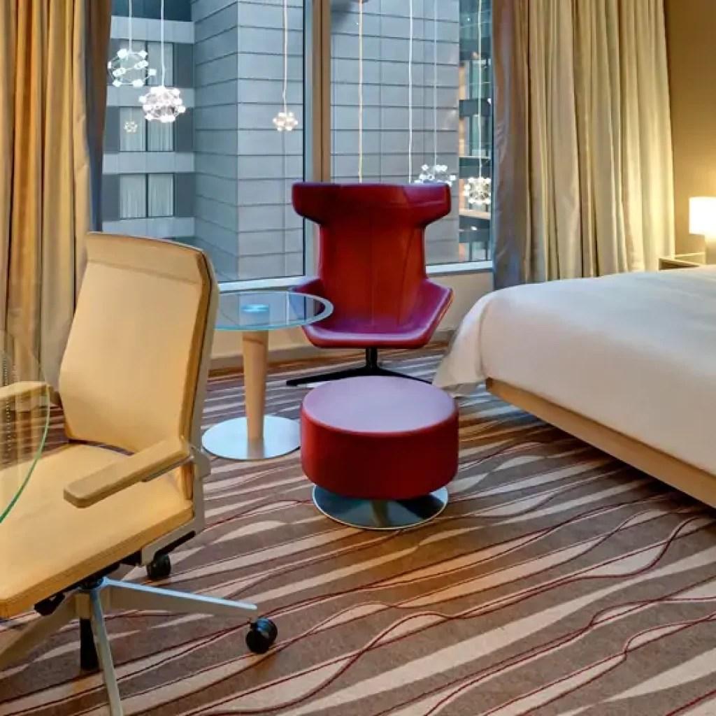 Luxury Hotel Hilton Frankfurt Airport