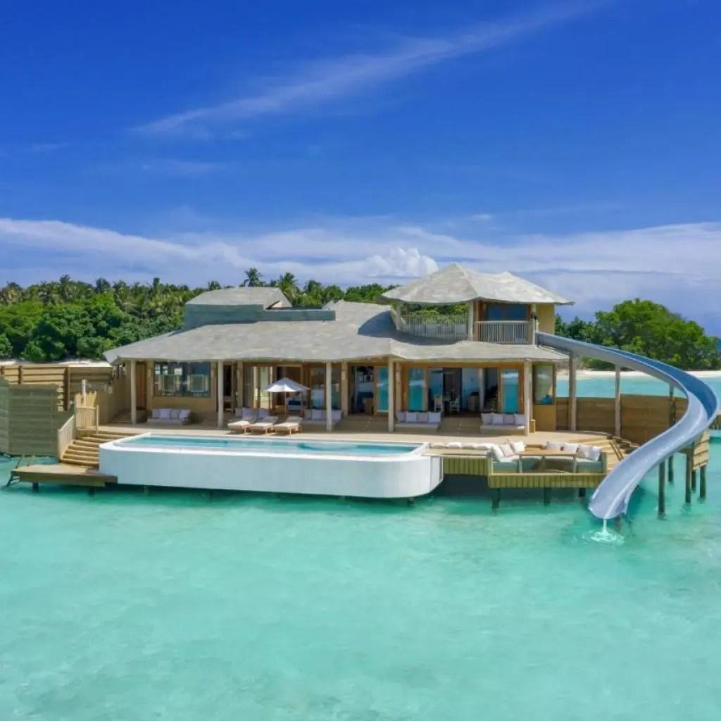 Luxury Hotel Soneva Fushi Baa Atoll